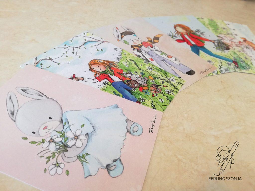 Húsvéti képeslapjaim