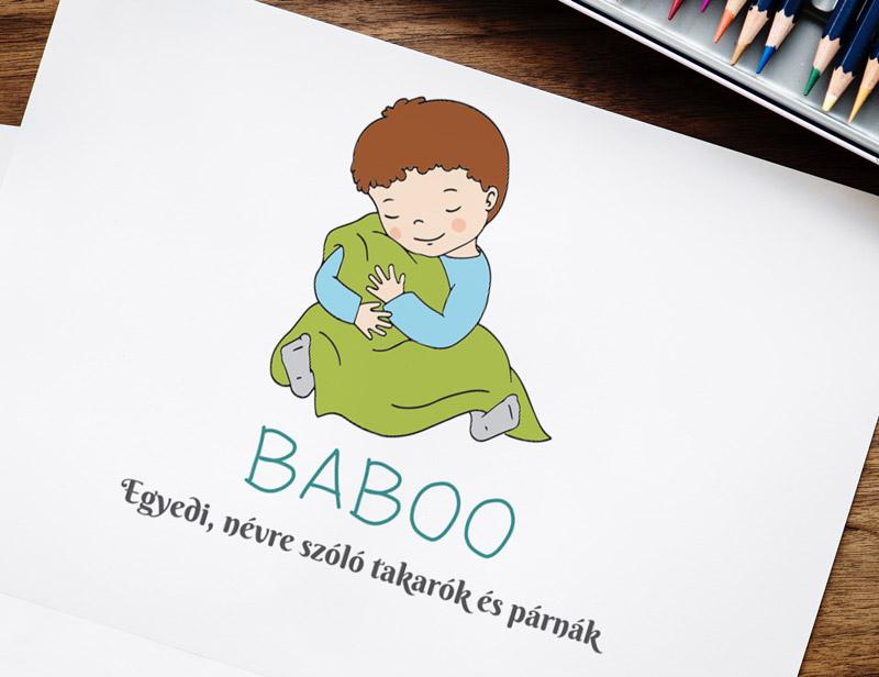 Baboo - egyedi névre szóló takarók logó