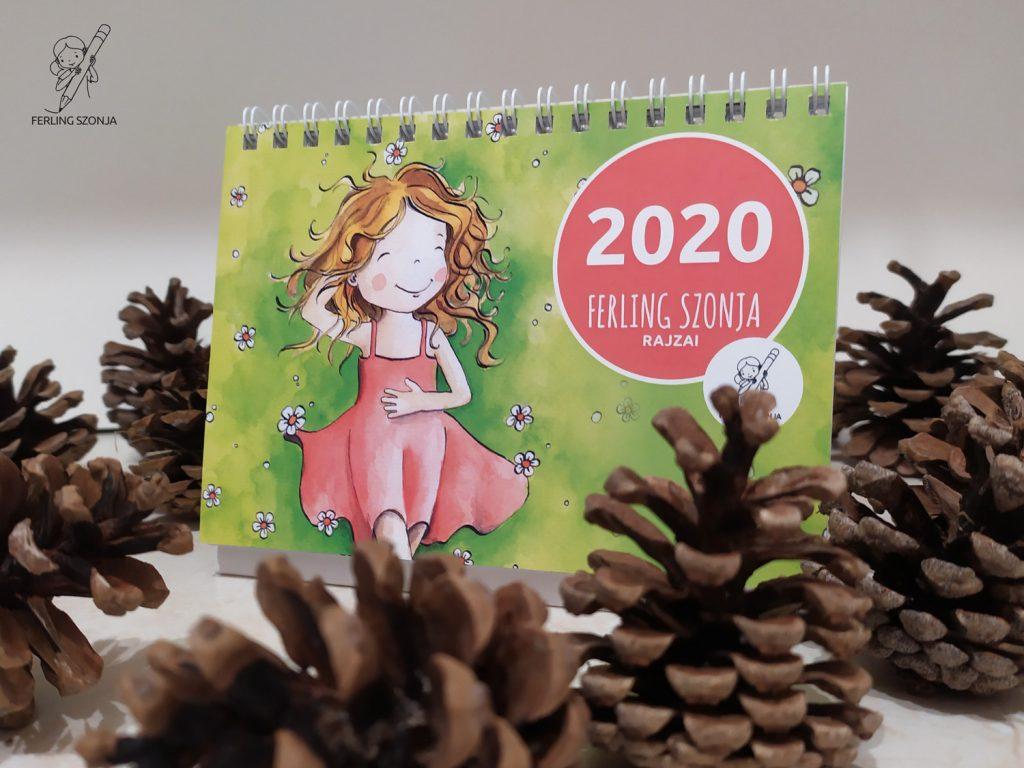 Asztali naptár - 2020