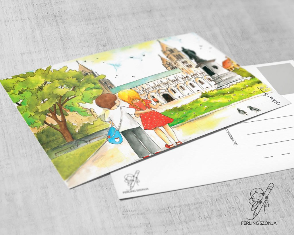 Pécsi képeslap - Dóm tér